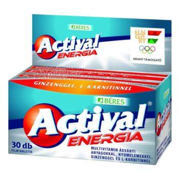 Béres Actival Energia filmtabletta - 30db