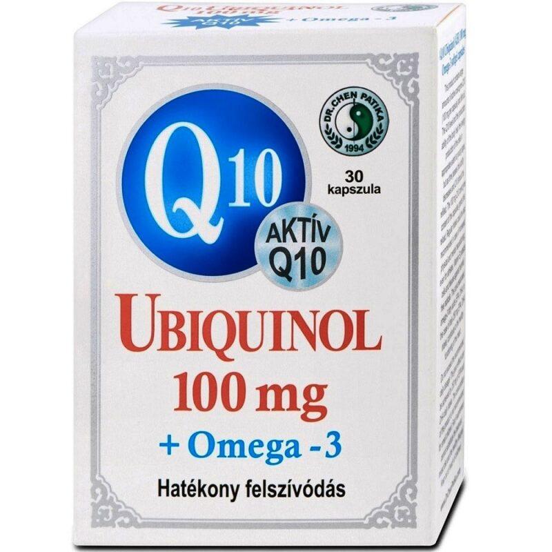 Dr. Chen Q10 Ubiquinol 100mg + Omega-3 kapszula - 30db