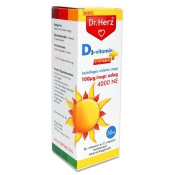 Dr. Herz D-vitamin csepp - 50ml