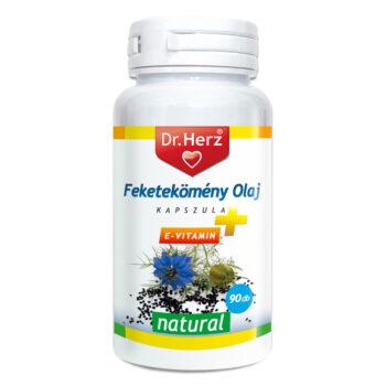 Dr. Herz Feketekömény olaj + E-vitamin kapszula - 90 db kapszula
