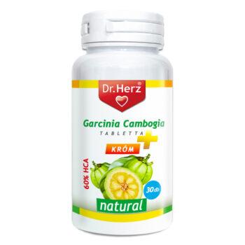 Dr. Herz Garcinia Cambogia + Króm tabletta - 30 db