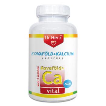 Dr. Herz Kovaföld + Ca + C vitamin kapszula - 60 db