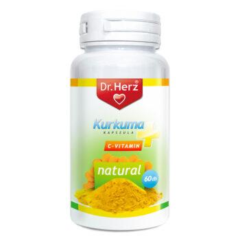 Dr. Herz kurkuma kapszula - 60 db