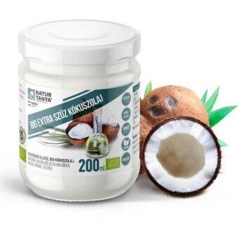 Dr. Natur étkek Bio extra szűz kókuszolaj (VCO) - 200ml