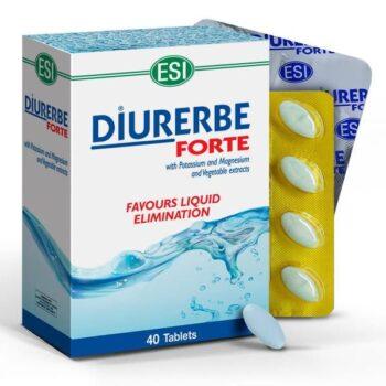 ESI Diurerbe Forte - növényi salaktalanító és vízhajtó tabletta - 40db