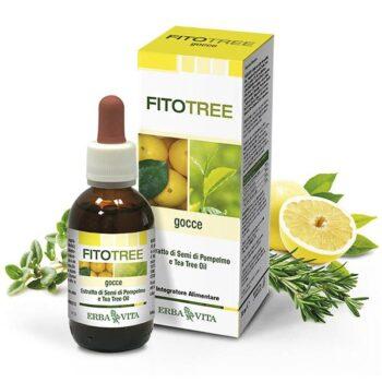 ErbaVita FitoTree grapefruit és teafa alapú fertőtlenítő olaj - 30ml