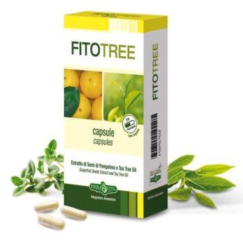 Erba Vita FitoTree grapefruit és teafa kapszula - 30db