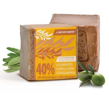 Najel 40%-os bio babérfaolaj tartalmú, szíriai színszappan - 1db