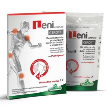 Specchiasol Leni Complex fájdalomcsillapító tapasz - 5db