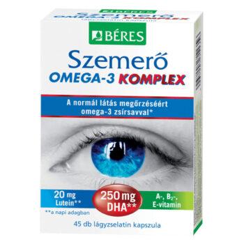 Béres Szemerő Omega-3 komplex lágyzselatin kapszula - 45db