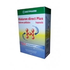 Dietpharm Hialuron direct plus tabletta - 30 db tabletta