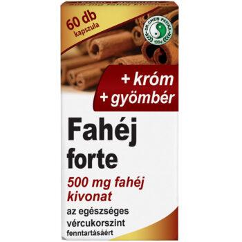 Dr. Chen fahéj forte kapszula - 60db