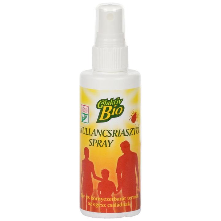 Galaktiv bio kullancsriasztó spray - 100 ml
