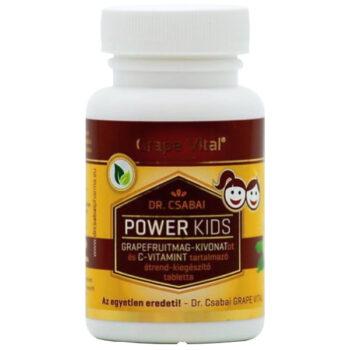 Grape Vital Power Kids tabletta - 60db