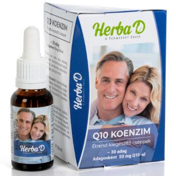 Herba-D Q10 koenzim csepp - 20ml