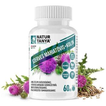 Natur Tanya Szerves Máriatövis mag tabletta - 60db