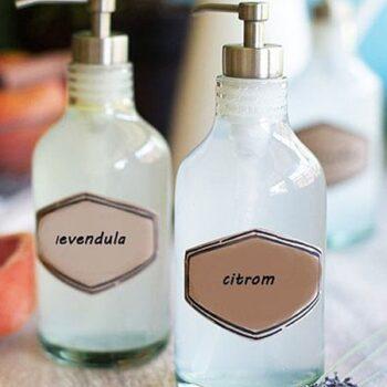 Folyékony szappanok