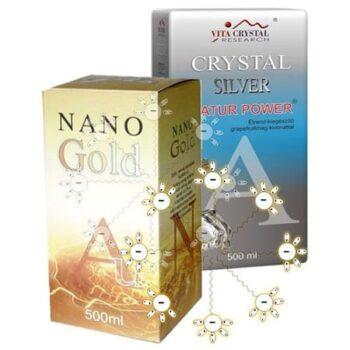 Nano Gold, Nano Silver, 84M
