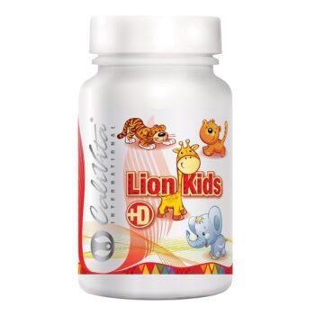 CaliVita Lion Kids + D multivitamin gyerekeknek rágótabletta - 90db