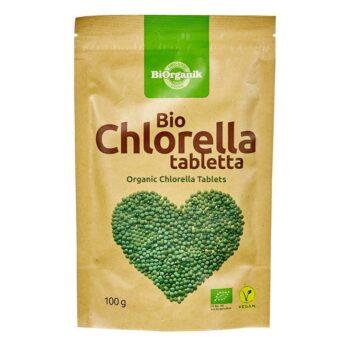 Biorganik Bio chlorella tabletta - 100g