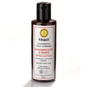 Khadi Gránátalmavirág & Narancs tusfürdő - 210ml