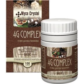 Myco Crystal 4G Complex gyógygomba kapszula - 100db