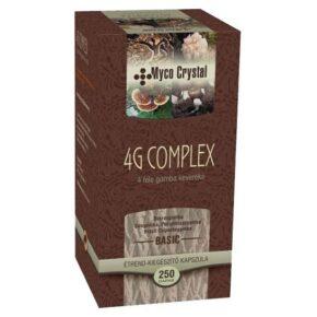 Myco Crystal 4G Complex gyógygomba kapszula - 250 db
