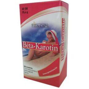 Vita-Caps Béta-Karotin kapszula - 60db