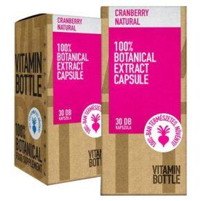 Vitamin Bottle Cranberry - Vörösáfonya kapszula - 30db