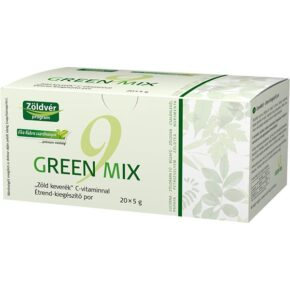 Zöldvér Green Mix 9 por - 20x5g