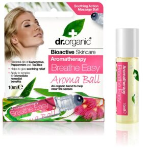 Dr. Organic könnyű légzés aroma ball - 10ml