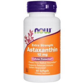 Now Astaxanthin 10mg kapszula - 60db