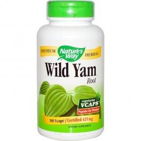 Natures Way Wild Yam kapszula - 180db