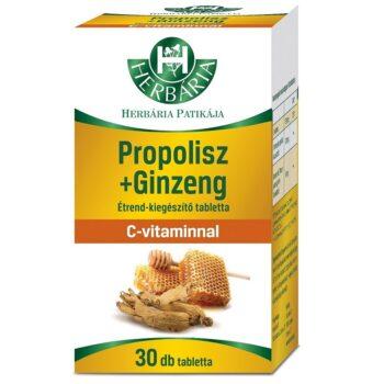 Herbária Propolisz+Ginzeng (Ginseng) tabletta - 30db