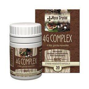 Myco Crystal 4G Complex gyógygomba - 30db kapszula
