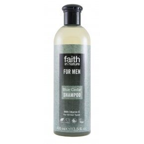 Faith in Nature Kék Cédrus sampon férfiaknak - 250ml
