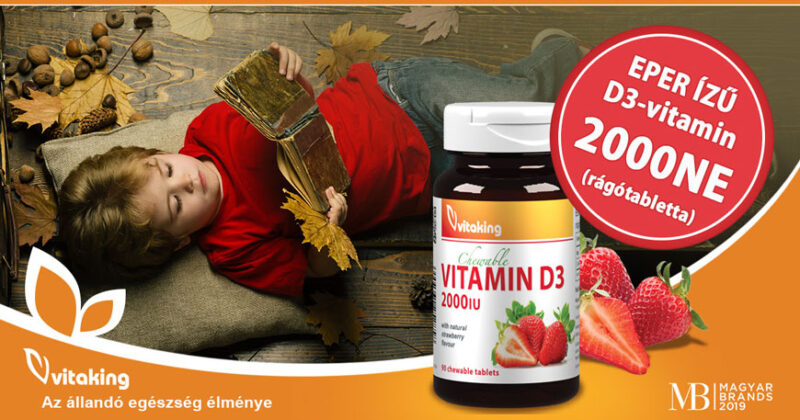 Vitaking D3-vitaminok