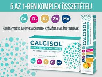 Calcisol 100% szerves kalcium