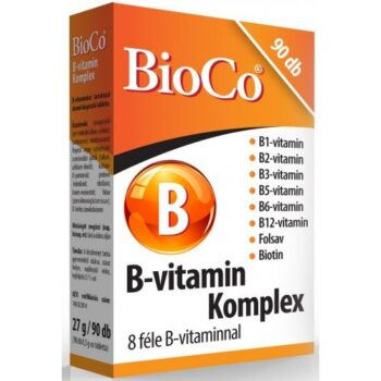 BioCo B-vitamin Komplex tabletta - 90db