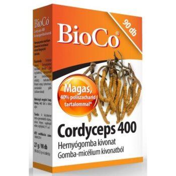 BioCo Cordyceps 400 Hernyógomba kivonat tabletta - 90db