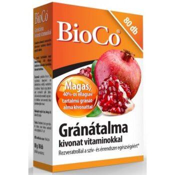 BioCo gránátalma tabletta - 80db