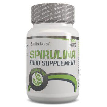 BioTech USA Spirulina tabletta - 100db