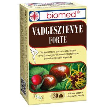 Biomed Vadgesztenye Forte kapszula - 30db