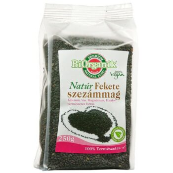 Naturmind fekete szezámmag - 250g