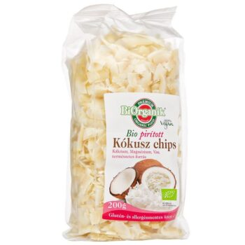 Biorganik Bio kókusz chips pirított - 200 g