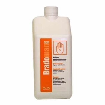 Bradoman Soft higiénés kézfertőtlenítőszer - 1000 ml