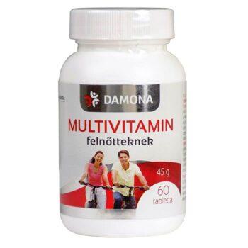 Damona multivitamin tabletta - 60db