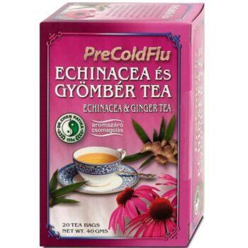 Dr. Chen PreColdFlu Tea Echinacea és gyömbér tea - 20filter