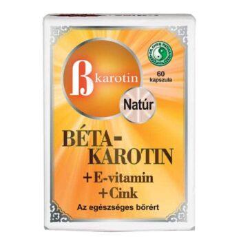 Dr. Chen Béta-Karotin + E-vitamin + Cink kapszula - 60db