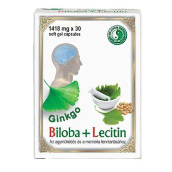 Dr. Chen ginkgo biloba + lecitin kapszula - 30db